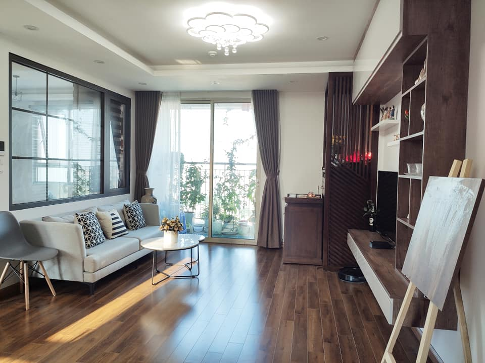 Mùa Vu Lan, vợ chồng con gái dành tâm sức hoàn thiện nội thất căn hộ 65m² với chi phí 500 triệu đồng dành tặng mẹ ở Hà Nội - Ảnh 3.