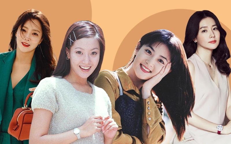 Trước thời bộ ba Kim Tae Hee - Song Hye Kyo - Jun Ji Hyun khuấy đảo Kbiz thì hai trường phái nhan sắc bất bại này đã từng làm cả Châu Á mê mẩn