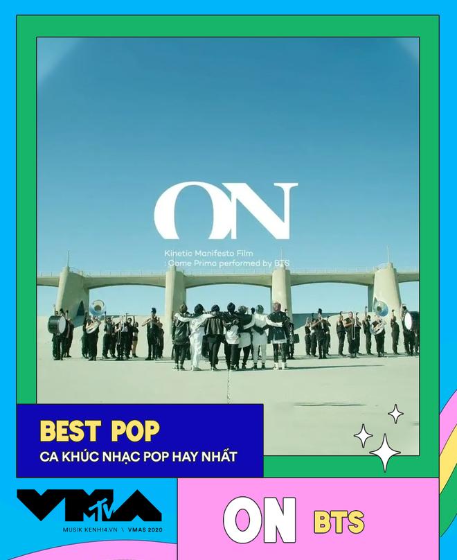 Kết quả MTV VMAs 2020: Lady Gaga và BTS chiếm trọn spotlight, Ariana Grande gom nhanh 4 giải, riêng Billie Eilish trắng tay - Ảnh 11.