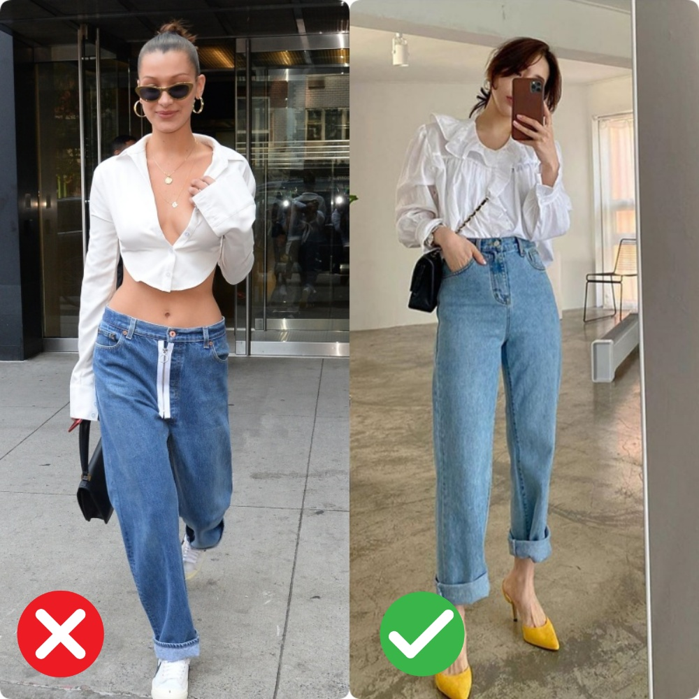 quần jeans dành cho nàng mông lép - Ảnh 3.