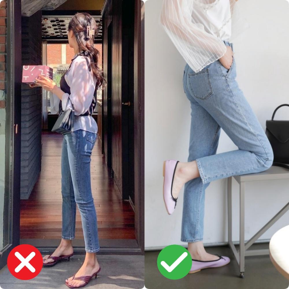 quần jeans dành cho nàng mông lép - Ảnh 1.