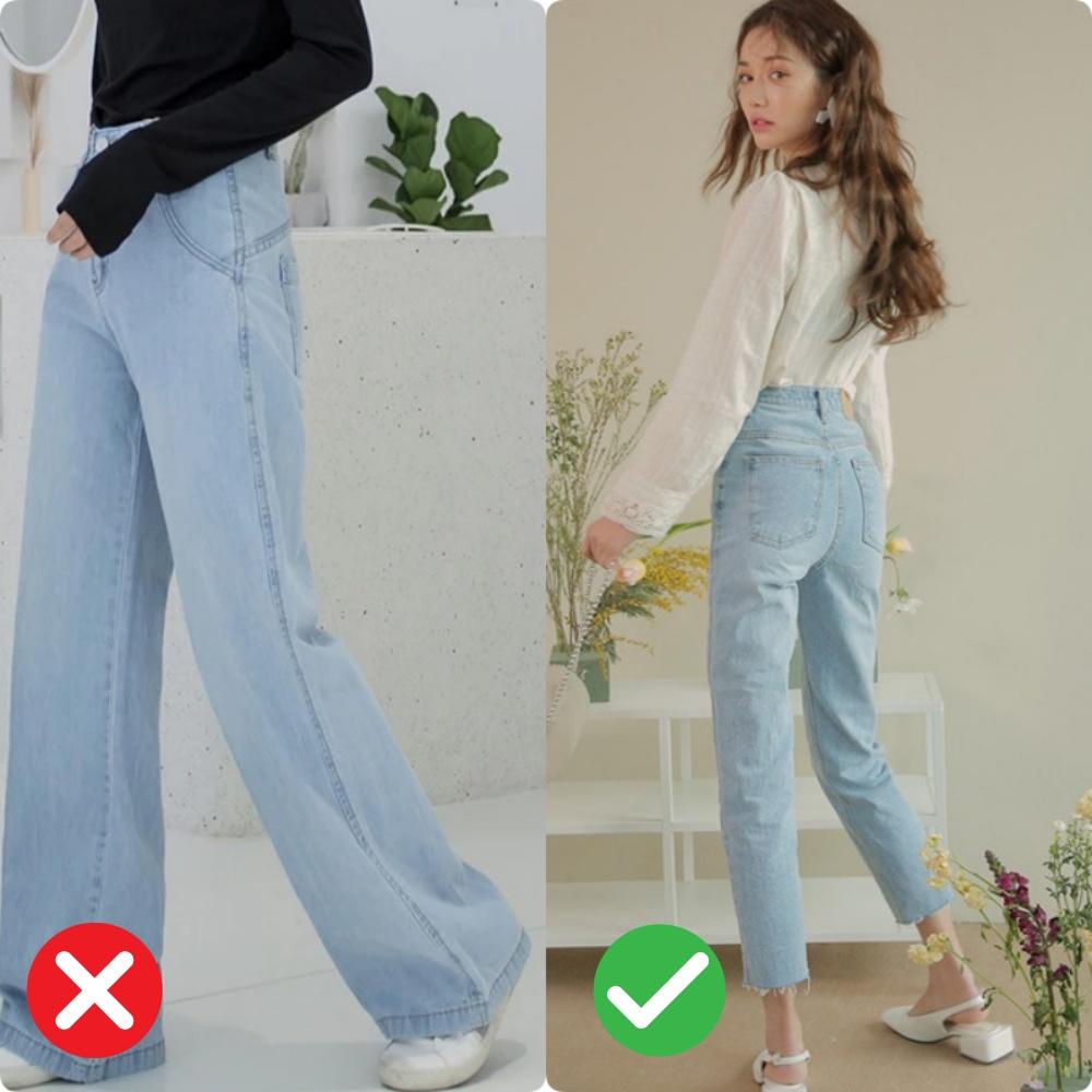 quần jeans dành cho nàng mông lép - Ảnh 2.