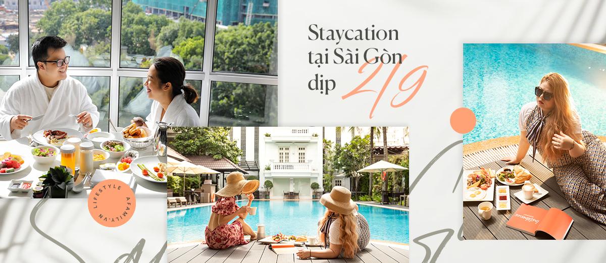"""Chọn ở khách sạn 5 sao cho kỳ nghỉ 2/9 tại Sài Gòn bất ngờ với chi phí rẻ hơn thường ngày đến nửa giá mà vẫn """"xịn xò"""", phục vụ từ đầu đến chân - Ảnh 1."""