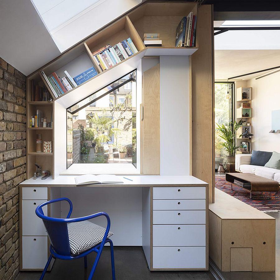 Căn hộ cấp 4 được cải tạo thành không gian đẹp hiện đại với ván éo, gạch rẻ tiền và thiết kế thông minh - Ảnh 7.