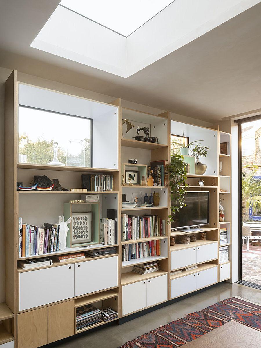 Căn hộ cấp 4 được cải tạo thành không gian đẹp hiện đại với ván éo, gạch rẻ tiền và thiết kế thông minh - Ảnh 4.
