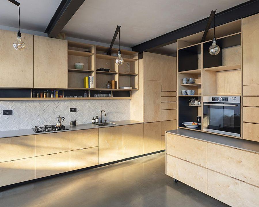 Căn hộ cấp 4 được cải tạo thành không gian đẹp hiện đại với ván éo, gạch rẻ tiền và thiết kế thông minh - Ảnh 5.