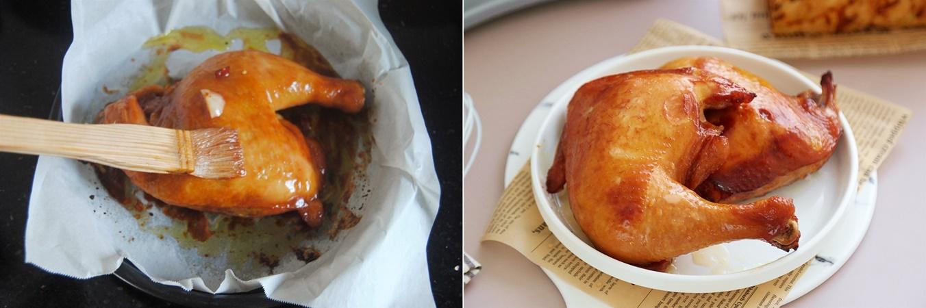 Hội lười lại thích ăn ngon thì vào hết đây có món gà nướng bằng nồi cơm điện nhàn tênh mà ăn ngon thôi rồi! - Ảnh 5.