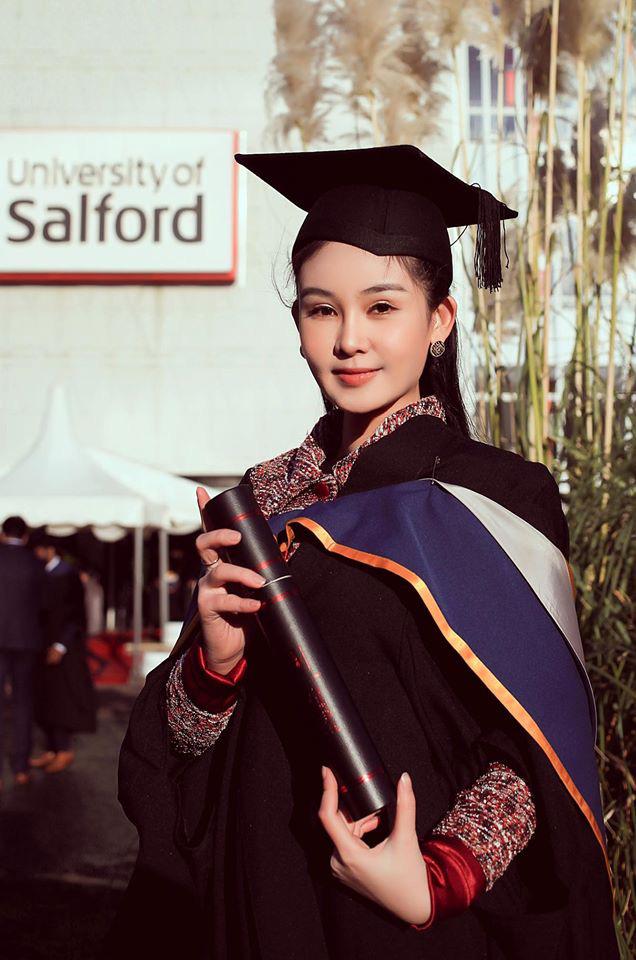 Lê Âu Ngân Anh tiết lộ chuyện trở thành giảng viên trẻ tuổi nhất của một trường Đại học: Lúc đầu em áp lực lắm vì trong tay chỉ có tấm bằng Thạc sỹ  - Ảnh 1.