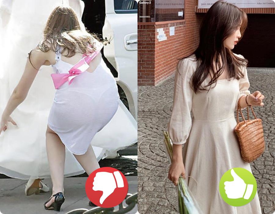 Cứ nghĩ váy áo trắng là thanh lịch, duyên dáng nhất rồi, nào ngờ cũng đầy rẫy thảm họa nhé nàng ơi! - Ảnh 2.