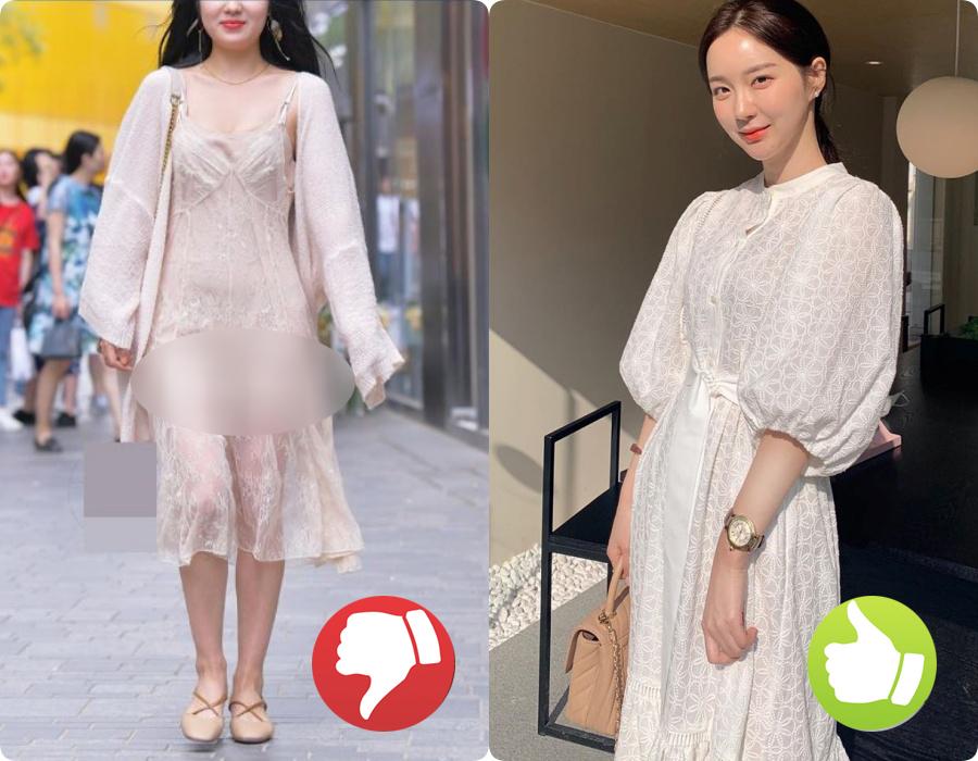 Cứ nghĩ váy áo trắng là thanh lịch, duyên dáng nhất rồi, nào ngờ cũng đầy rẫy thảm họa nhé ai ơi! - Ảnh 2.