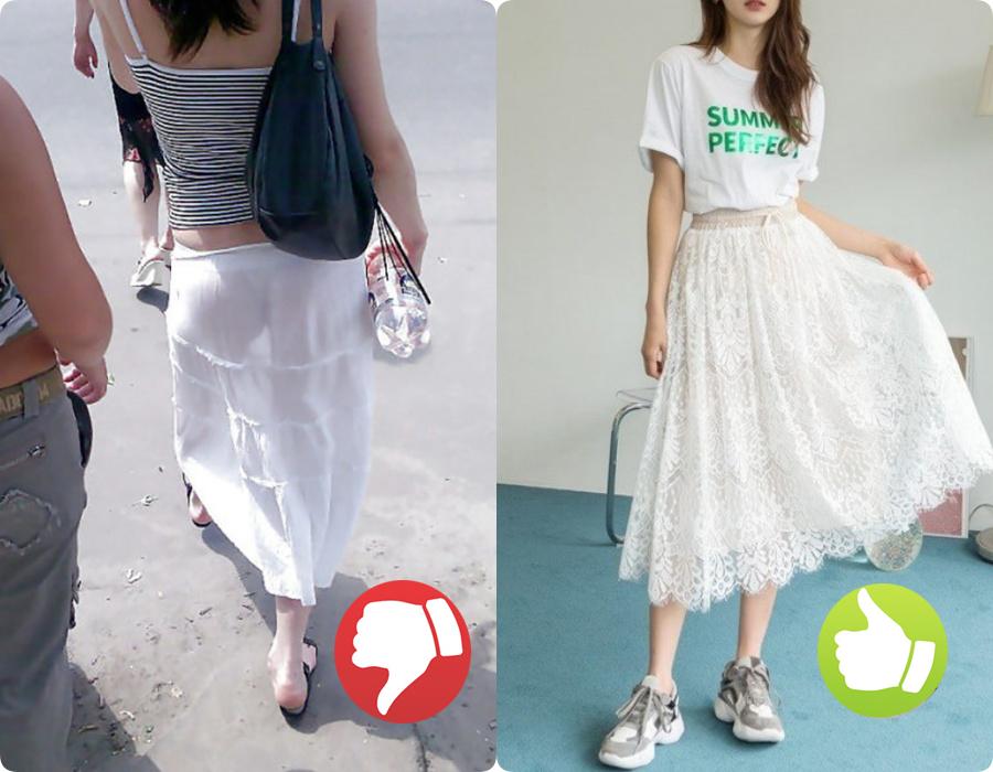 Cứ nghĩ váy áo trắng là thanh lịch, duyên dáng nhất rồi, nào ngờ cũng đầy rẫy thảm họa nhé ai ơi! - Ảnh 4.