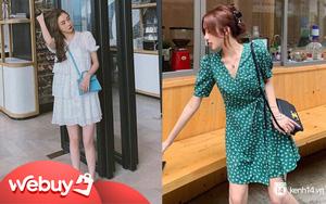9 mẫu váy liền giúp các nàng có style xịn sò hẳn lên, diện đi chơi