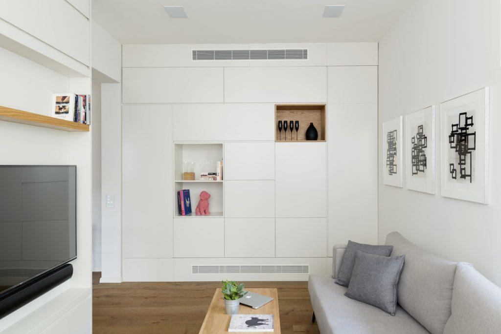Căn hộ 59m² thiết kế vừa vặn cho cuộc sống hiện đại, tiện nghi ở thủ đô - Ảnh 8.