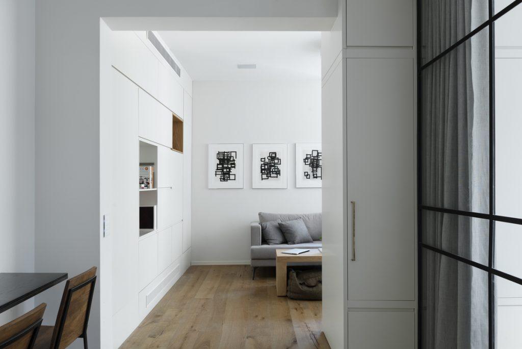 Căn hộ 59m² thiết kế vừa vặn cho cuộc sống hiện đại, tiện nghi ở thủ đô - Ảnh 9.