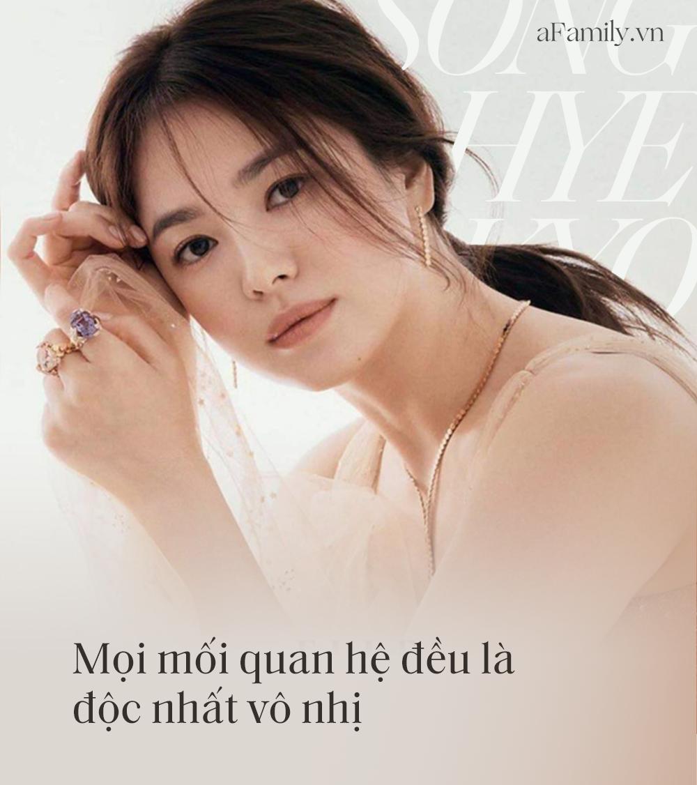 """Song Hye Kyo đá xoáy chồng cũ Song Joong Ki trong bài phỏng vấn mới: Nhấn mạnh sự """"phức tạp"""" tới 3 lần, khẳng định tình yêu phải được giữ gìn từ hai phía? - Ảnh 4."""