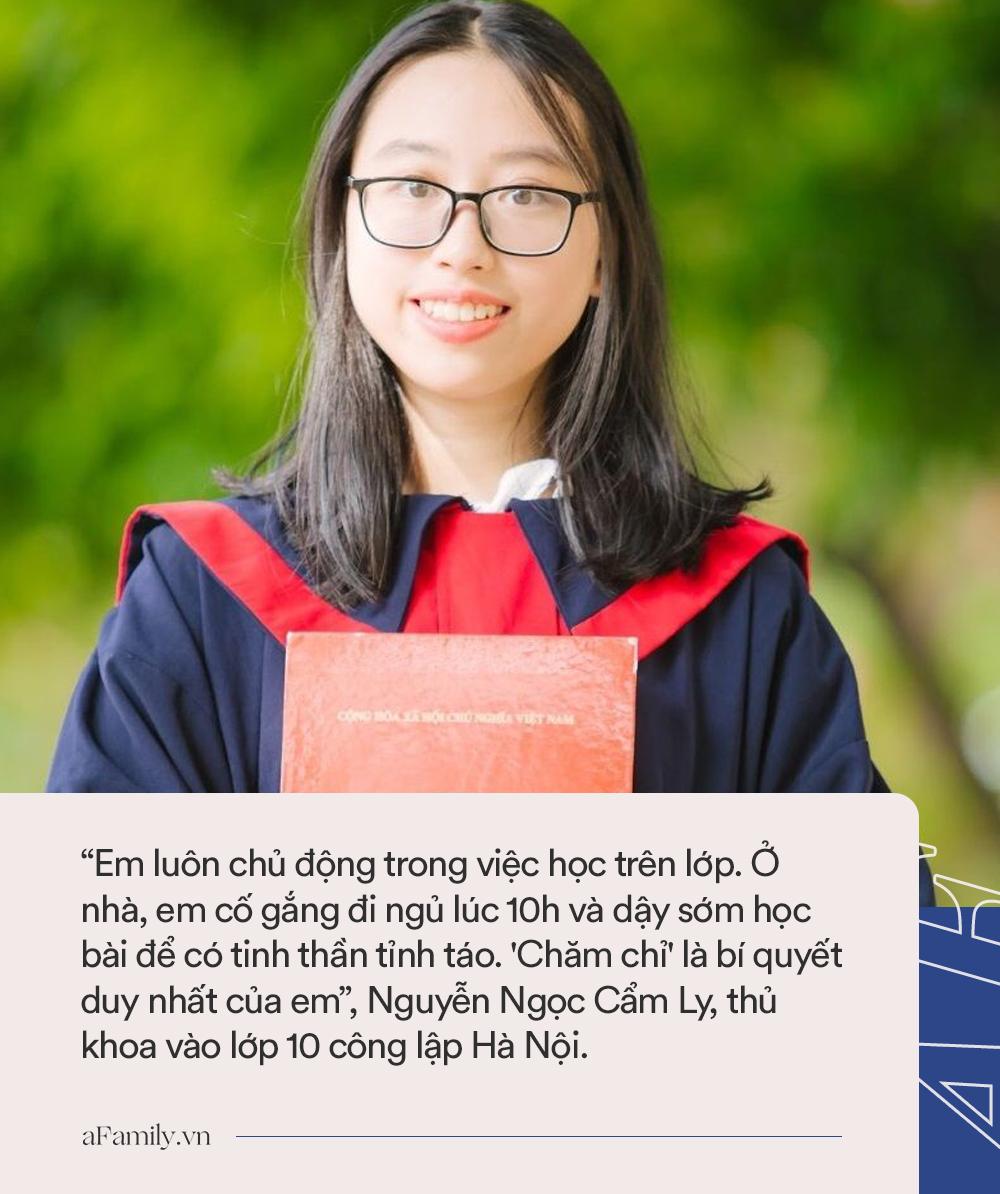 Nữ thủ khoa vào lớp 10 công lập Hà Nội với số điểm 48.5: Luôn đi ngủ lúc 10h nhưng bất ngờ hơn là quyết định chọn trường - Ảnh 1.