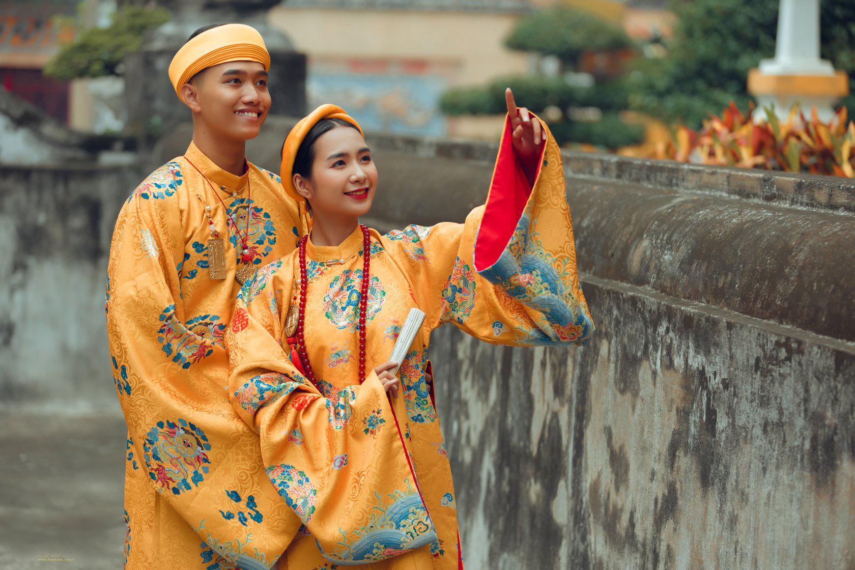 """Nhóm học sinh cấp 3 tìm về nét đẹp truyền thống, diện nguyên dàn cổ phục Việt chụp ảnh kỷ yếu, nhanh chóng thành tạo """"hot trend"""" trên mạng xã hội - Ảnh 20."""