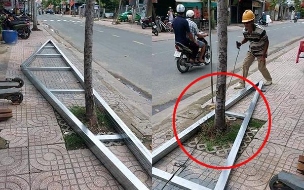 Pha xử lý cồng kềnh của chú thợ hàn: Làm xong rồi lại gãi đầu gãi tai không biết nên chặt cái cây hay phá khung nhôm?