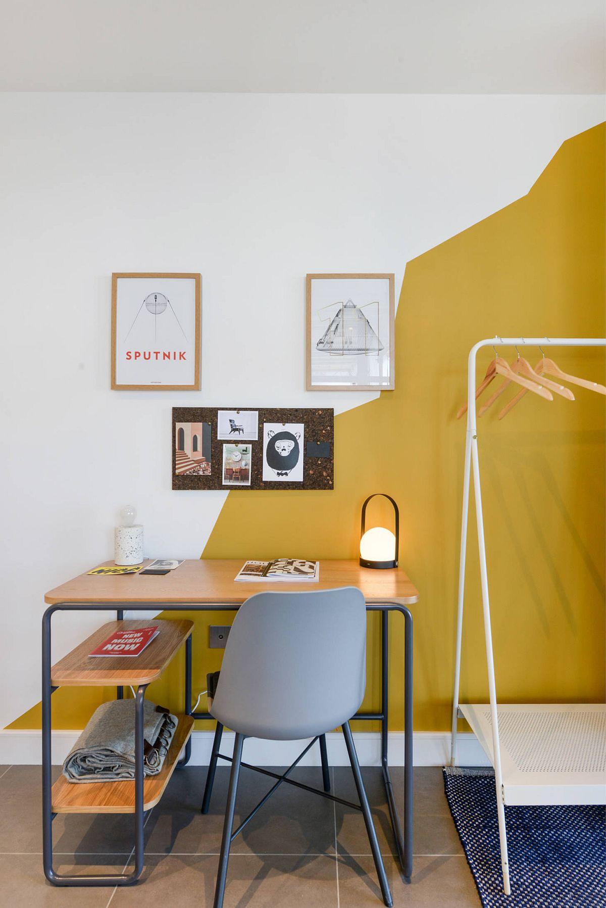 Phòng làm việc nhỏ tại nhà với phong cách chiết trung đầy màu sắc - Ảnh 11.