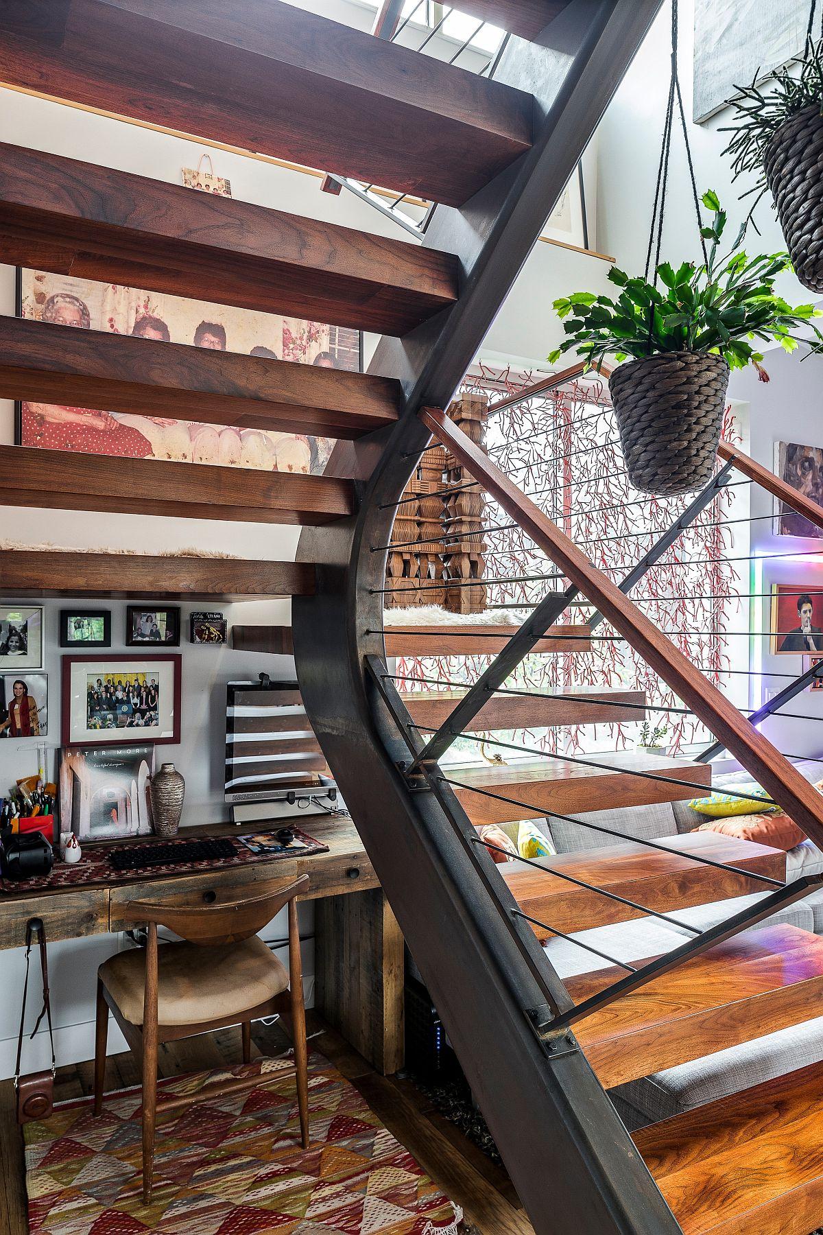 Phòng làm việc nhỏ tại nhà với phong cách chiết trung đầy màu sắc - Ảnh 4.
