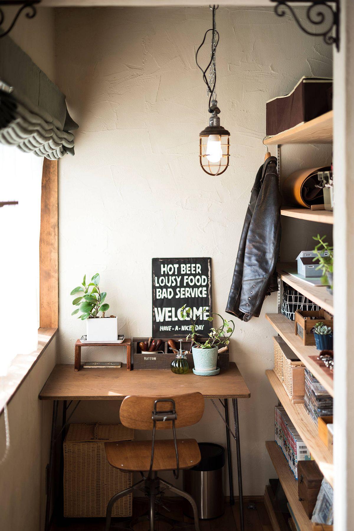 Phòng làm việc nhỏ tại nhà với phong cách chiết trung đầy màu sắc - Ảnh 5.