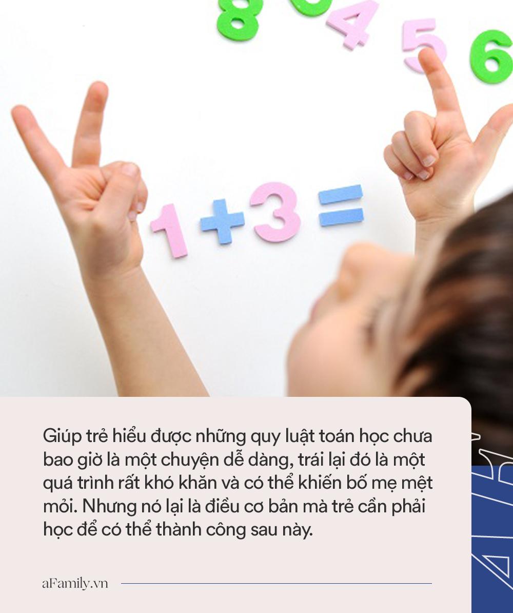 Con sẽ học giỏi toán lớp 1 nếu được bố mẹ dạy 5 bước làm phép cộng trừ nhanh cực hữu ích này - Ảnh 3.