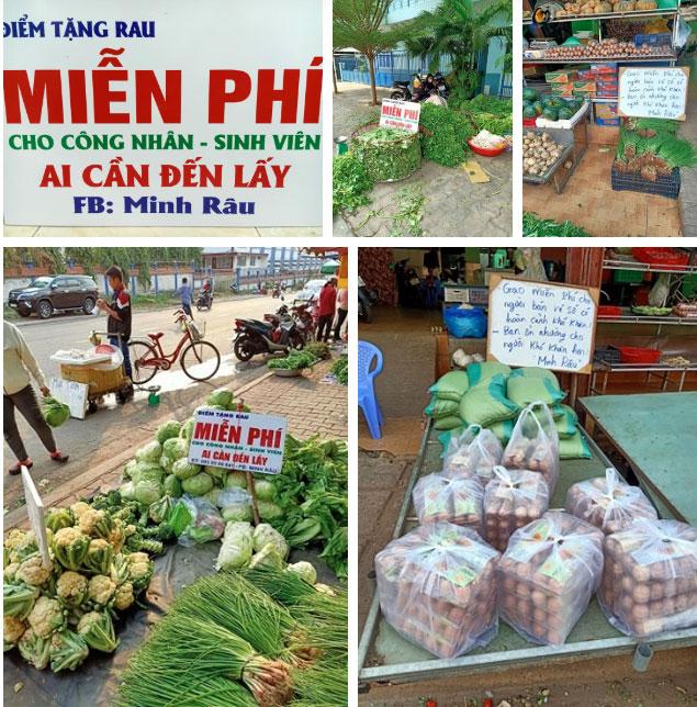 """Chú Minh Râu - người bán rau nổi tiếng lại hot trên mạng xã hội vì tấm bảng """"không đeo khẩu trang bán đắt gấp đôi"""" - Ảnh 1."""