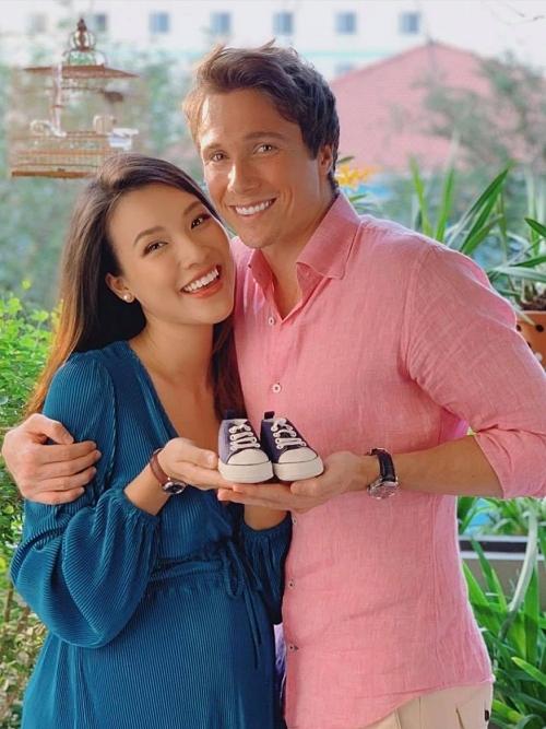 HOT: Á hậu Hoàng Oanh chính thức xác nhận đã sinh con trai đầu lòng - Ảnh 3.
