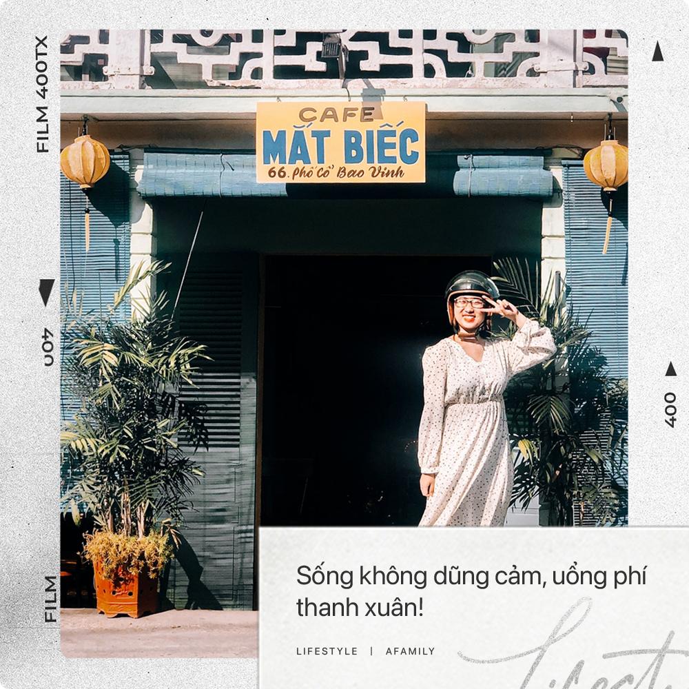 """Cô nàng độc thân 26 tuổi lần đầu đi xuyên Việt bằng xe máy với 7 triệu và 17 ngày: Cả tuổi trẻ dành để """"đi bụi"""", sống không dũng cảm uổng phí thanh xuân! - Ảnh 27."""