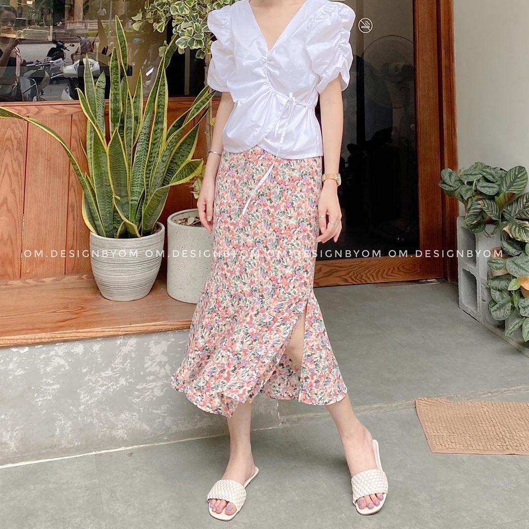 Áo blouse nhấn eo đã hack dáng còn mix được 5 kiểu khác nhau, bảo sao nàng nào cũng muốn sắm vài ba chiếc - Ảnh 5.