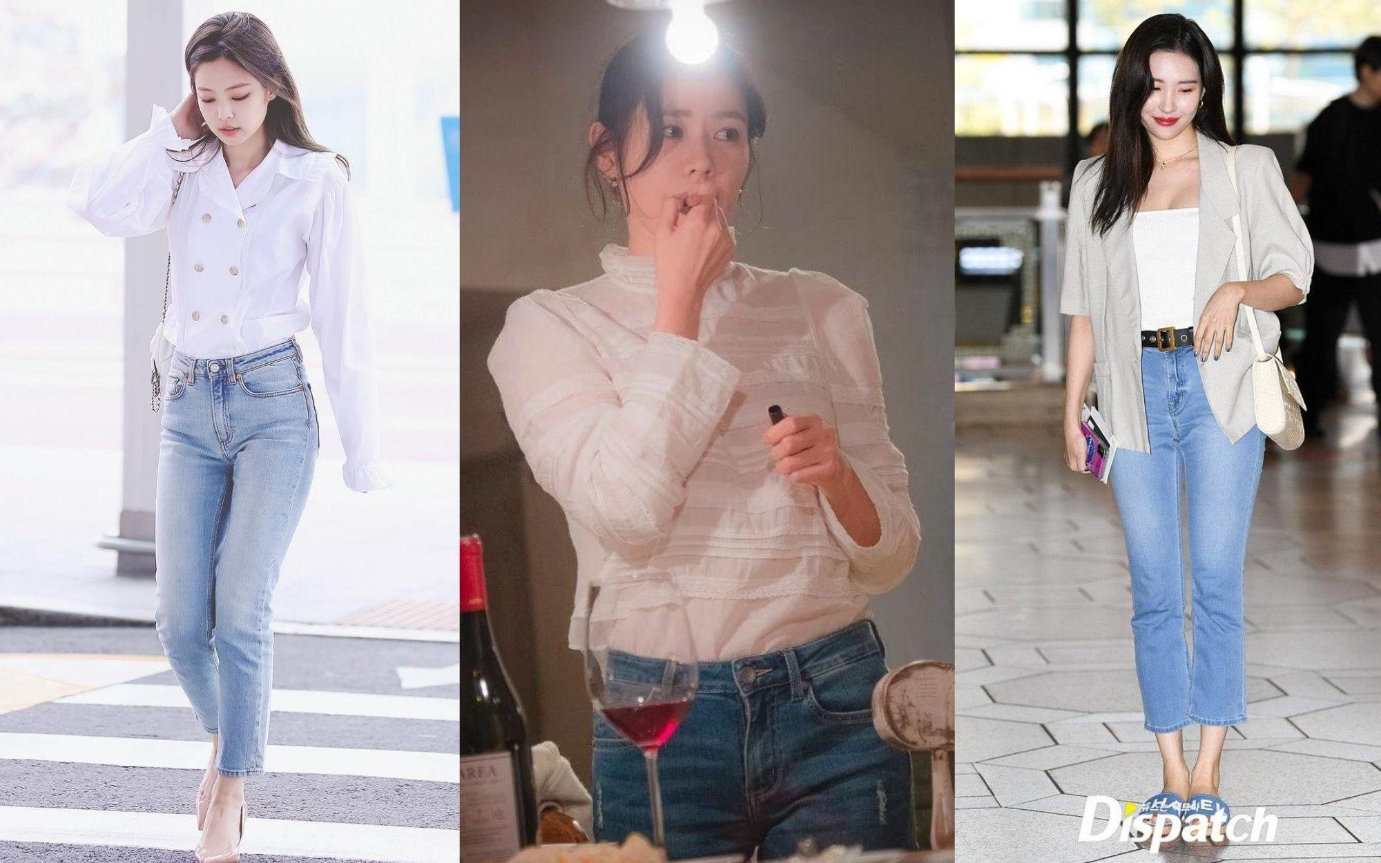 Bạn sẽ không biết mặc quần skinny jeans xấu là gì nếu học 14 set đồ xịn đẹp sau đây của sao Hàn