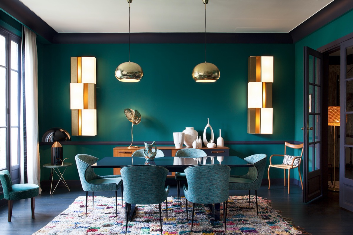 Xanh lá - tone màu không thể thiếu trong phòng ăn nhà bạn - Ảnh 5.