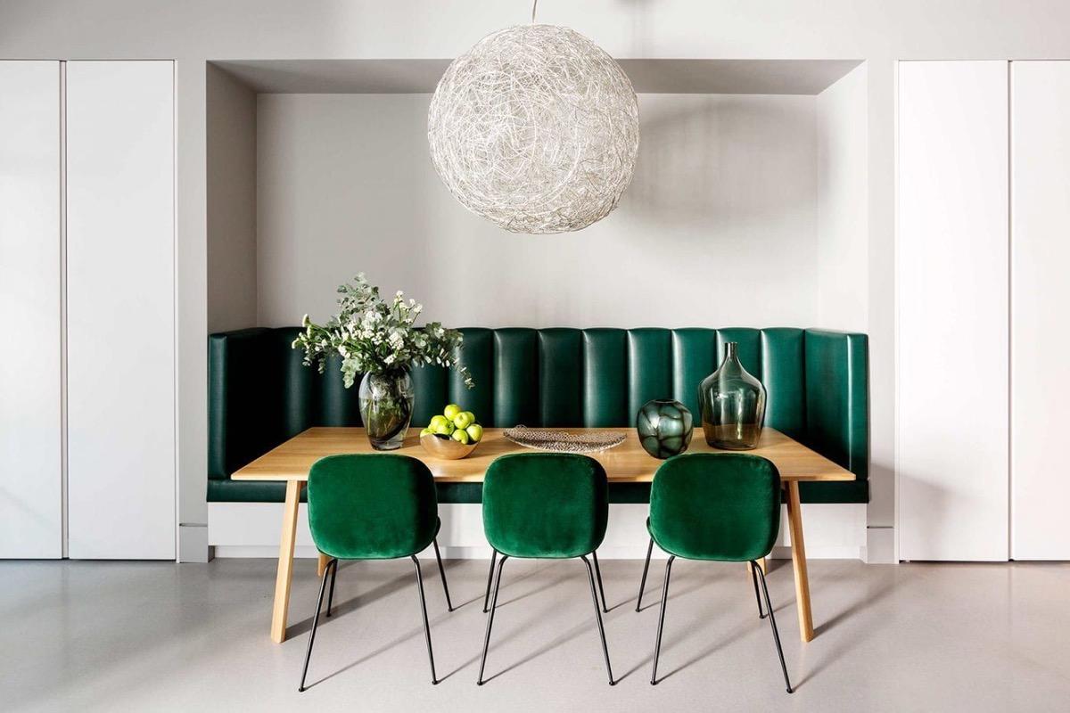 Xanh lá - tone màu không thể thiếu trong phòng ăn nhà bạn - Ảnh 8.
