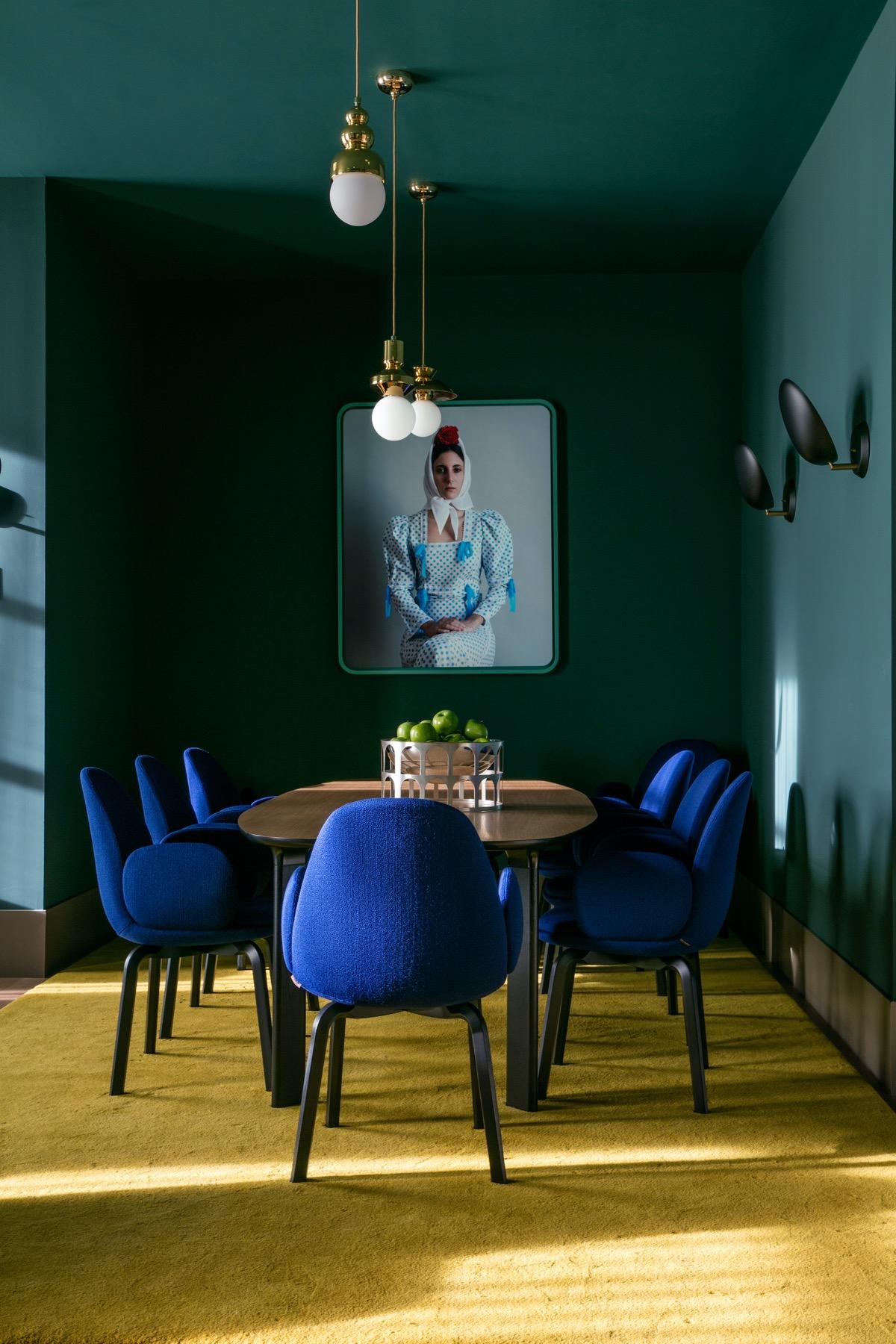Xanh lá - tone màu không thể thiếu trong phòng ăn nhà bạn - Ảnh 13.