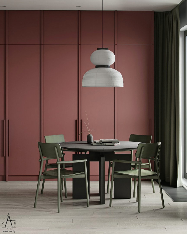 Xanh lá - tone màu không thể thiếu trong phòng ăn nhà bạn - Ảnh 19.