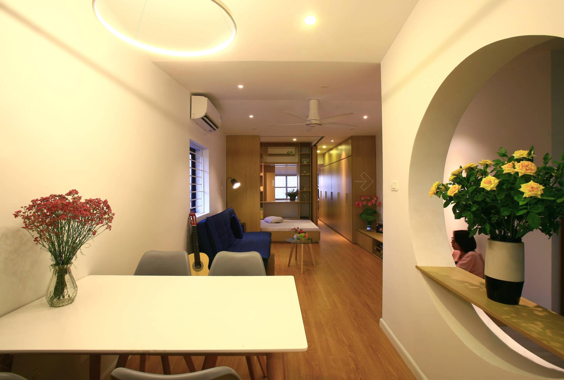 """""""Chuồng cọp"""" chật hẹp của nhà tập thể cũ 70m² biến thành không gian ấm cúng, rộng rãi với chi phí 320 triệu đồng ở Hà Nội  - Ảnh 9."""