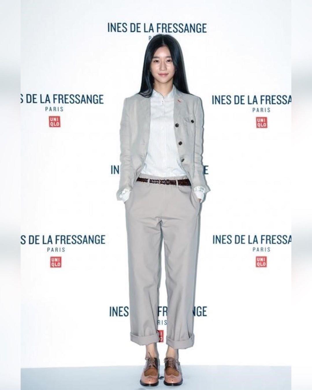 Chân dài nổi tiếng nhưng Seo Ye Ji cũng từng dìm dáng thảm hại vì chọn nhầm bộ suit khiến chân ngắn một mẩu - Ảnh 1.