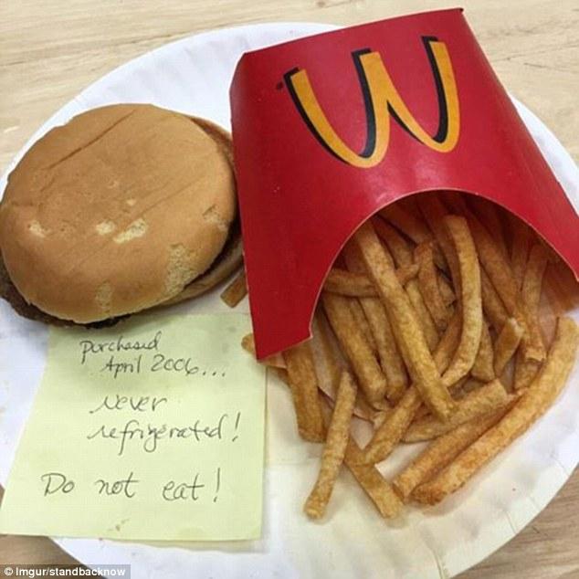 """Burger và khoai tây McDonald's 24 năm không hỏng khiến MXH xôn xao, hé lộ sự thật về """"tuổi thọ"""" của đồ ăn nhanh - Ảnh 6."""
