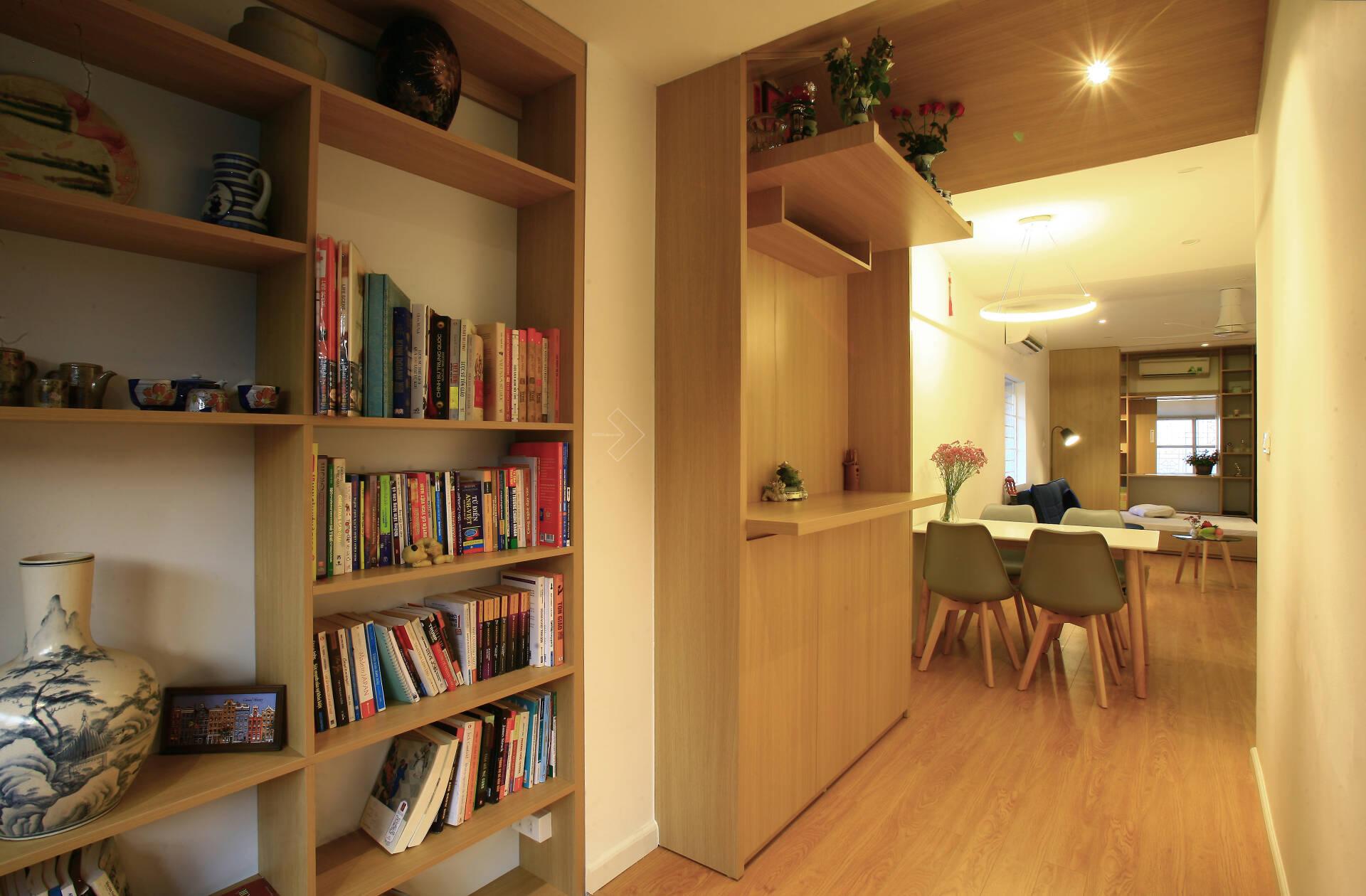 """""""Chuồng cọp"""" chật hẹp của nhà tập thể cũ 70m² biến thành không gian ấm cúng, rộng rãi với chi phí 320 triệu đồng ở Hà Nội  - Ảnh 8."""