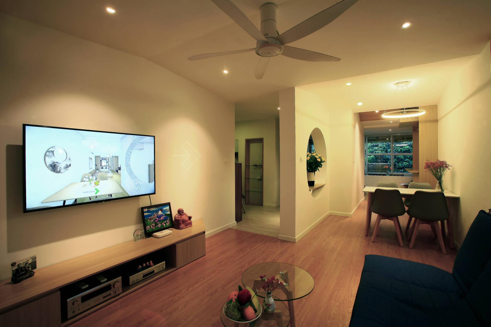 """""""Chuồng cọp"""" chật hẹp của nhà tập thể cũ 70m² biến thành không gian ấm cúng, rộng rãi với chi phí 320 triệu đồng ở Hà Nội  - Ảnh 4."""