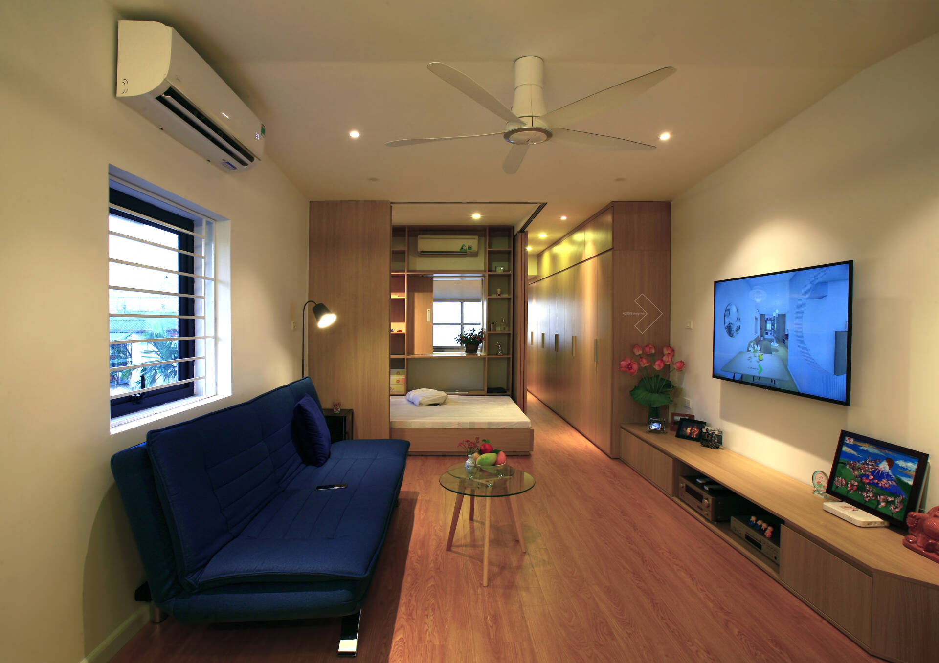"""""""Chuồng cọp"""" chật hẹp của nhà tập thể cũ 70m² biến thành không gian ấm cúng, rộng rãi với chi phí 320 triệu đồng ở Hà Nội  - Ảnh 3."""