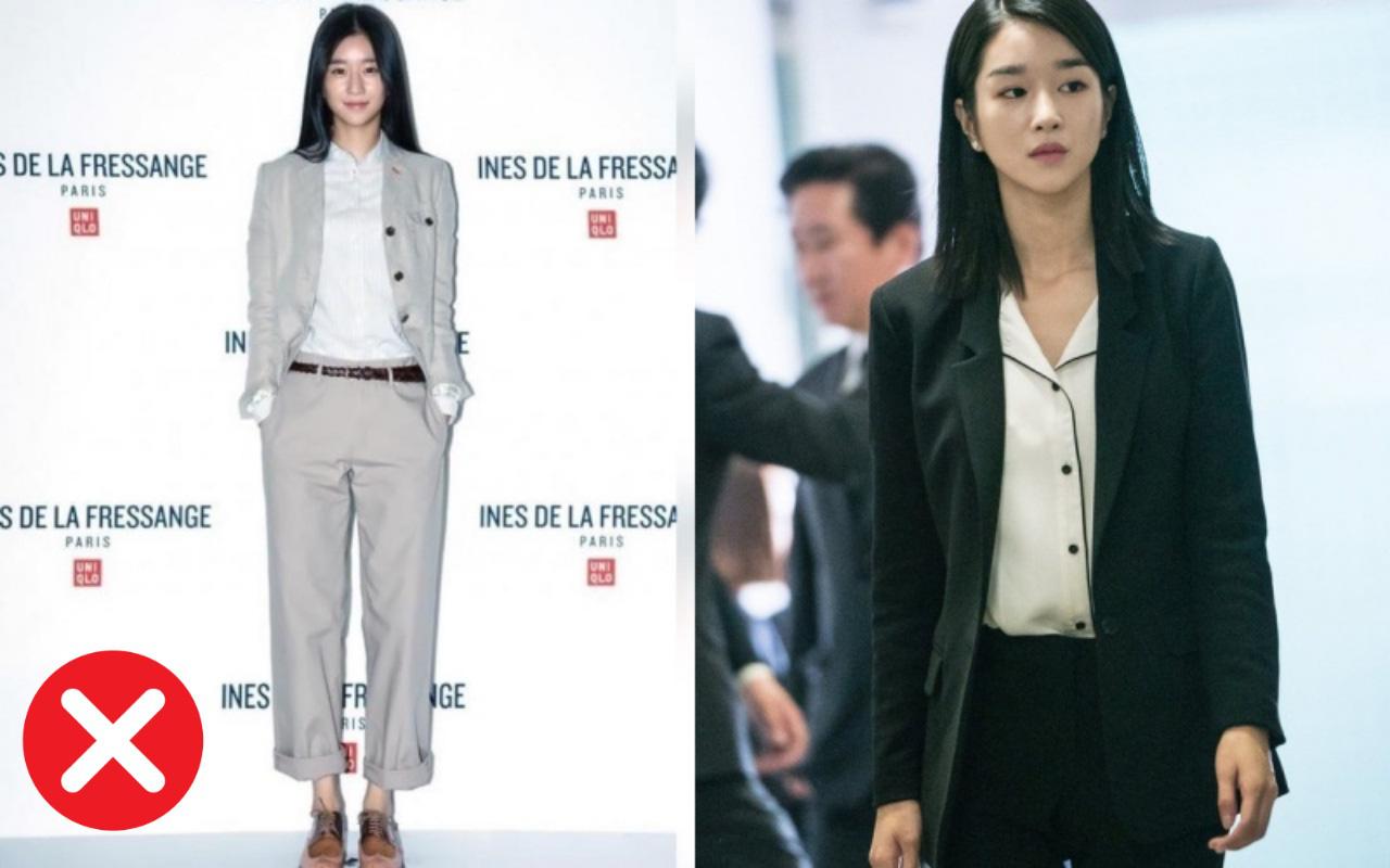 Chân dài nổi tiếng nhưng Seo Ye Ji cũng từng dìm dáng thảm hại vì chọn nhầm bộ suit
