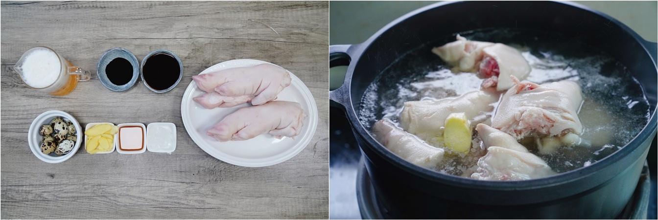 Bổ sung collagen cho da dẻ căng mịn chỉ với món móng giò kho trứng cút mềm ngon hấp dẫn - Ảnh 2.
