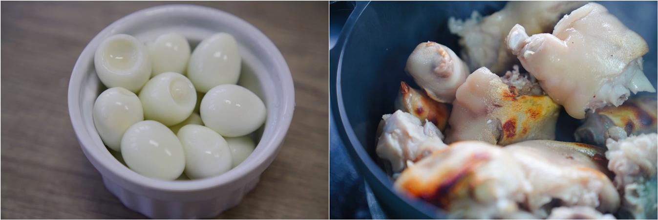 Bổ sung collagen cho da dẻ căng mịn chỉ với món móng giò kho trứng cút mềm ngon hấp dẫn - Ảnh 3.