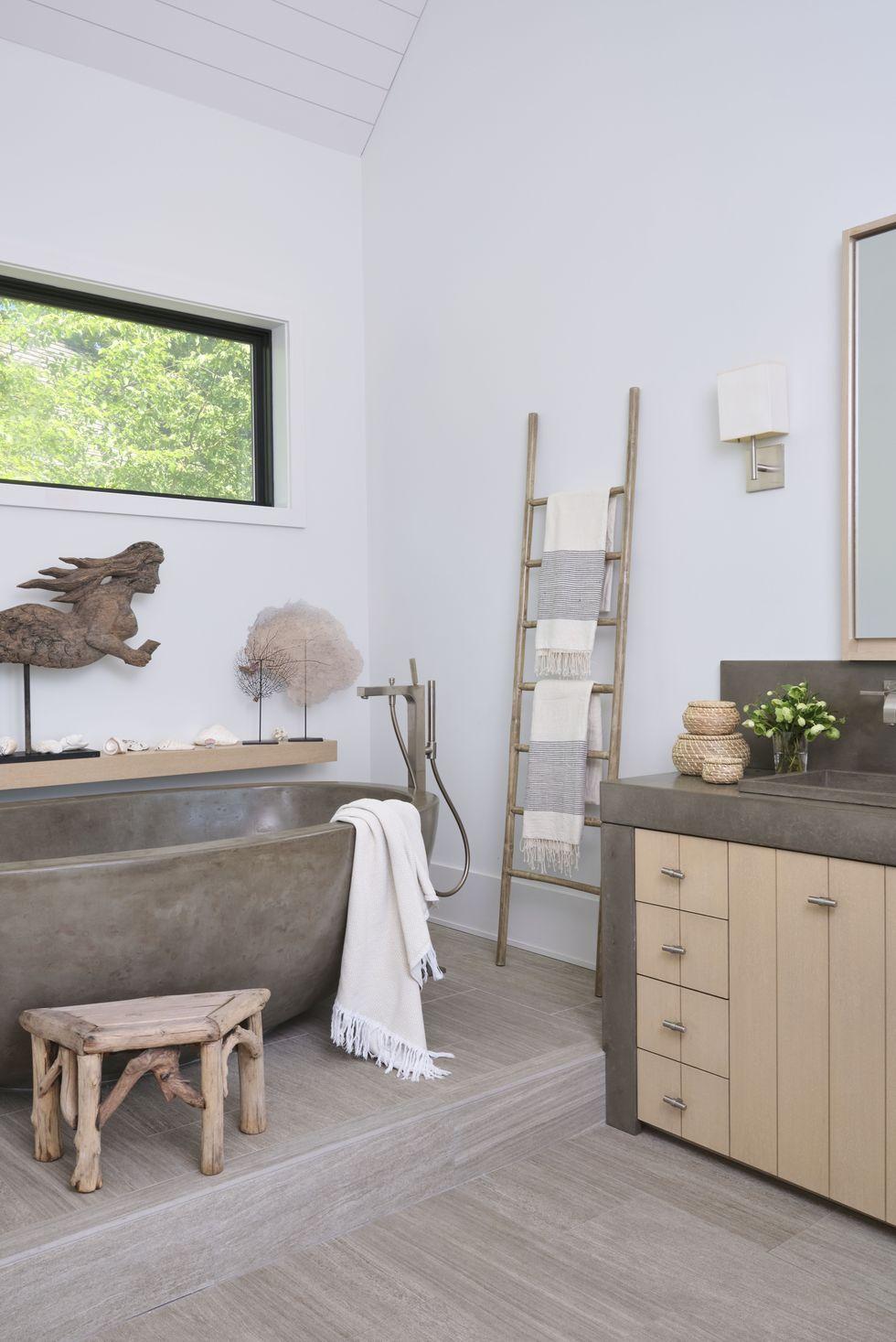 Những ý tưởng phòng tắm tuyệt vời khiến cho bạn không bao giờ muốn rời khỏi đây - Ảnh 20.