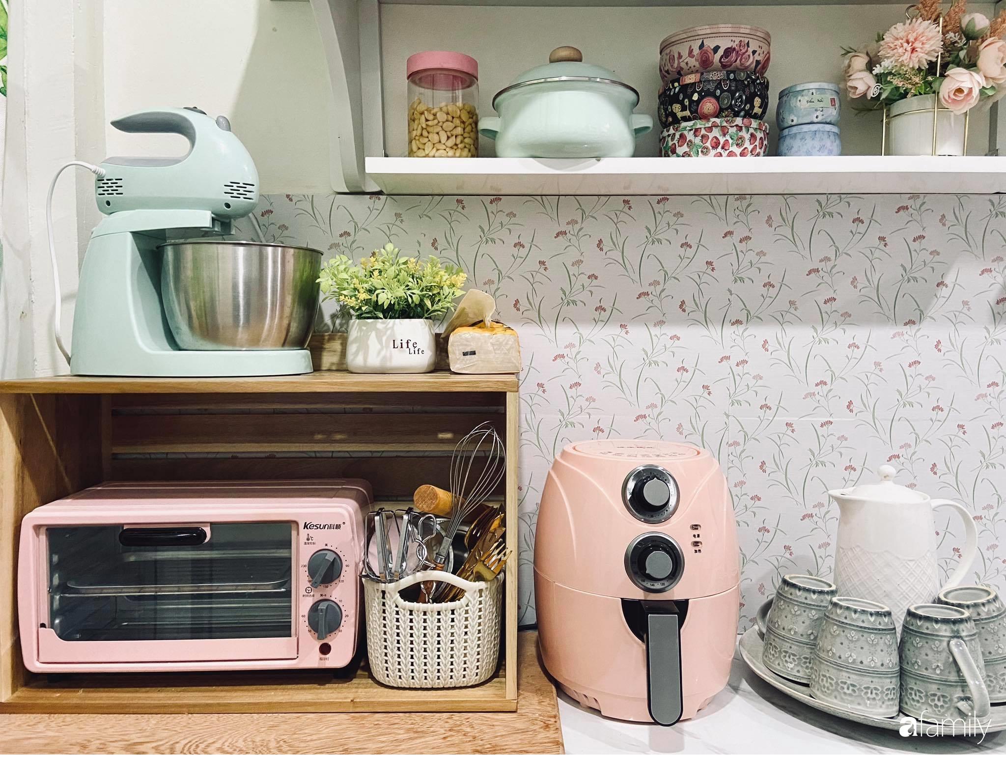 Căn bếp vừa gọn vừa xinh sau khi cải tạo với chi phí 2,6 triệu đồng của cô gái Hà Nội - Ảnh 11.