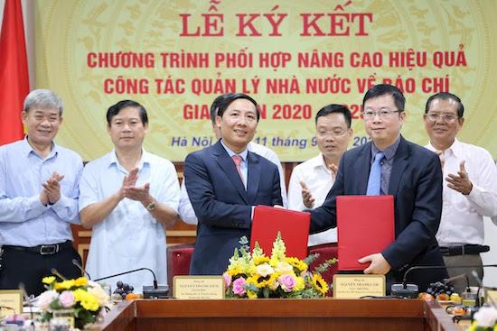 Sở Thông tin và Truyền thông Hà Nội hợp tác cùng Cục Báo chí nâng cao hiệu quả quản lý báo chí - Ảnh 1.