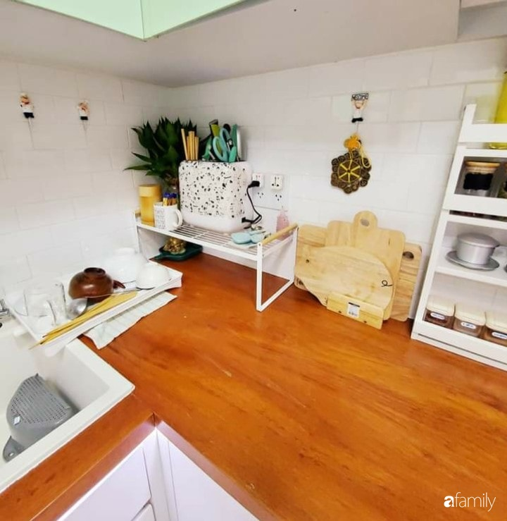 Cải tạo nhà phố 21m² trong ngõ nhỏ thành không gian xinh xắn, tiện nghi có chi phí hoàn thiện 700 triệu đồng ở Sài Gòn - Ảnh 13.
