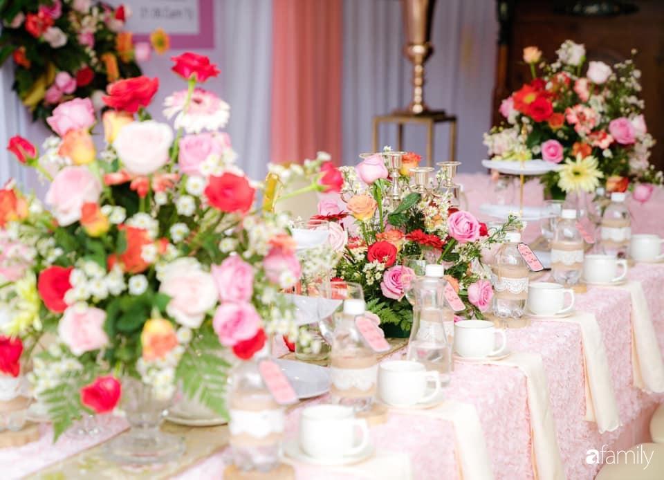 Nghe cô dâu Cần Thơ mách cách tự lên ý tưởng để trang trí tiệc cưới tiết kiệm, đẹp lung linh chỉ hết hơn 10 triệu trong mùa dịch - Ảnh 5.
