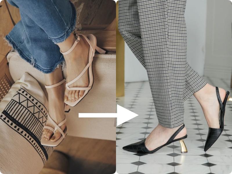 Ngay khi thu về, việc đầu tiên mà nàng nào cũng muốn làm đó là đổi giày - Ảnh 3.